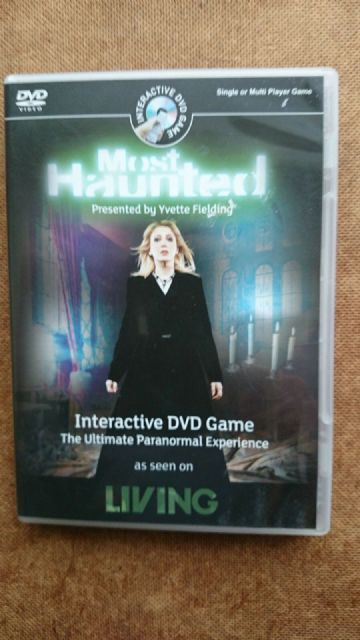 Most Haunted Interactive DVD Game (DVDi, 2008)